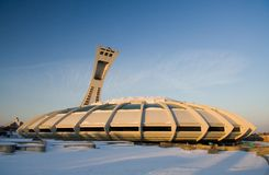 Montreal-olympisches Stadion Stockfoto