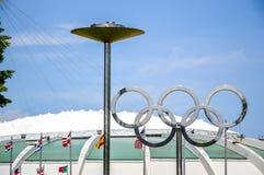 Montreal-olympisches Stadion stockfotos