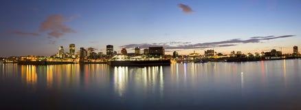 Montreal panorama Royalty Free Stock Photo