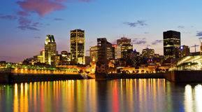 Montreal panorama Royalty Free Stock Image