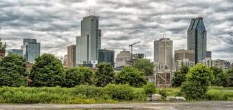 montreal panorama zdjęcia stock
