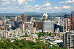 Montreal Panorama Royalty Free Stock Photo