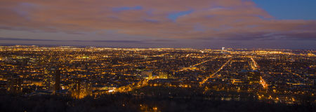 Montreal panorama Royalty Free Stock Images