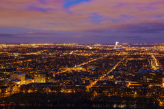 Montreal panorama Stock Photography