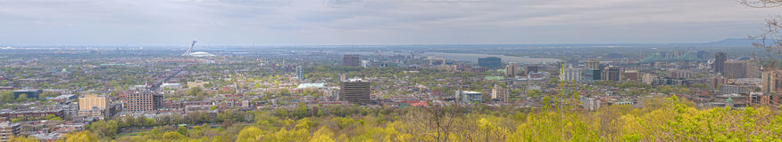 Montreal Panoramic Stock Images