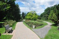Montreal parkerar botaniska trädgårdar, Quebec, Kanada Royaltyfria Bilder