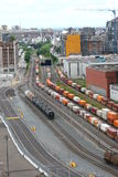 Montreal pociągu jard Zdjęcie Royalty Free
