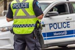 Free Montreal Policeman And Police Car Stock Photos - 159275263