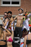 Montreal Pride parade Celebrations Royalty Free Stock Photos