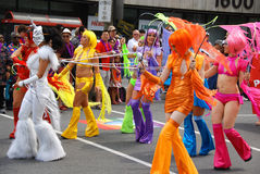 Montreal Pride parade Royalty Free Stock Photo