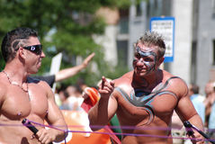 Montreal Pride parade Royalty Free Stock Images