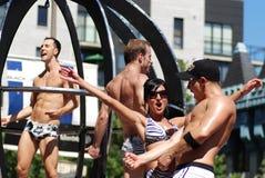 Montreal Pride parade Royalty Free Stock Photos