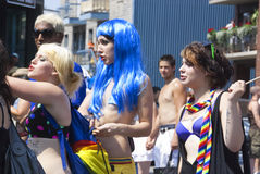 Montreal Pride parade Royalty Free Stock Photos