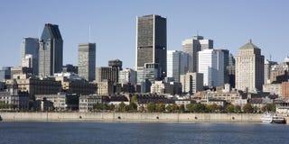Montreal, Quebec, Canadá, horizonte Imagenes de archivo