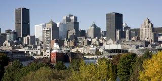 Montreal, Quebec, Canadá, horizonte Fotos de archivo libres de regalías
