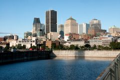 Montreal,Quebec,Canada Royalty Free Stock Photo