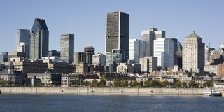 Montreal, Quebec, Canada, skyline Stock Images