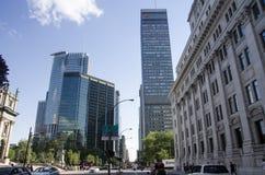 Montreal Quebec, Kanada - 18 Juli 2016 - olik stil av buil Fotografering för Bildbyråer