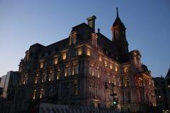 Montreal-Rathaus Lizenzfreie Stockfotografie