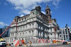 Montreal-Rathaus Stockfotos