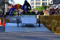 Montreal Red Bull Soapbox Race stock photos