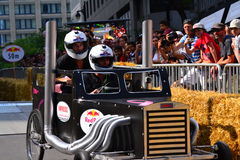 Montreal Red Bull Soapbox Race Stock Photo