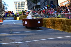 Montreal Red Bull Soapbox Race royalty free stock photography
