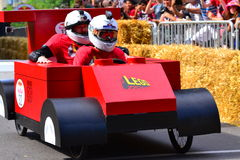 Montreal Red Bull Soapbox Race Stock Image