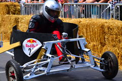 Montreal Red Bull Soapbox Race Stock Images