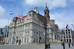Montreal's city hall Stock Images