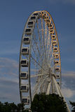 Montreal`s Observation Wheel in the Old Port stock photography