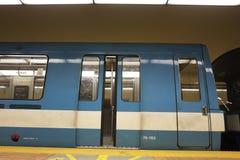 Montreal's Subway train Stock Photography