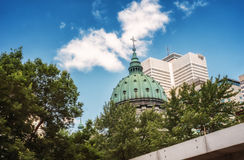Montreal scene Royalty Free Stock Photography
