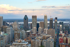 Montreal, scenic view. MONTREAL, CANADA - MAY 27, 2016 : Scenic view of spring downtime Montreal royalty free stock photography