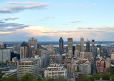 Montreal, scenic view. MONTREAL, CANADA - MAY 27, 2016 : Scenic view of spring downtime Montreal royalty free stock photos