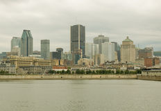 Montreal Skyline 1 Royalty Free Stock Image