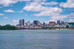 Montreal Skyline Royalty Free Stock Photography
