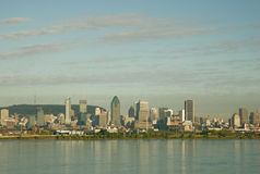 Montreal Skyline 3. Montreal, Quebec, Canada Skyline view royalty free stock images