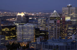 Montreal Skyline - Canada Royalty Free Stock Images