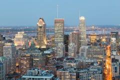 Montreal Skyline Stock Photo