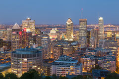 Montreal Skyline Stock Images