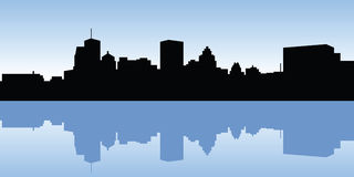 Montreal Skyline Stock Photography