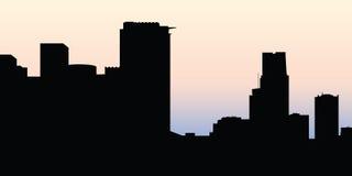 Montreal Skyline Stock Image