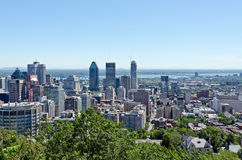 Montreal Skyscrapers Royalty Free Stock Photos