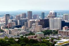 Montreal skyskrapa Royaltyfri Fotografi