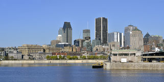 Montreal in spring stock photos
