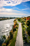 Montreal St-Helene isle in St-Laurence river Royalty Free Stock Image