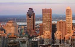 Montreal stad royaltyfri foto