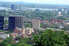 Montreal stad i Quebec, Kanada Royaltyfria Foton