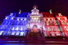 Montreal stadshus Arkivfoto